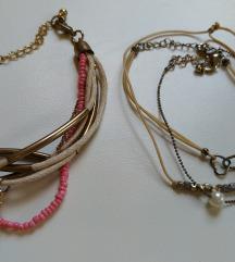 2 db karkötő csomag ( rózsaszín, barack ,arany)