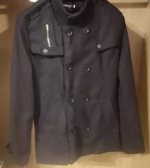 Férfi fekete kabát