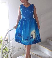 Új, címkés, téli mintás ruha