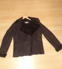 Szép, hibátlan téli kabát L