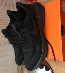 Full fekete Nike cipő