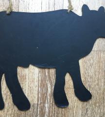 tehén alakú tábla, (A4es lapnál nagyobb)