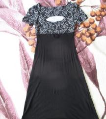 Fekete, alkalmi ruha, XS/S