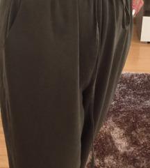 Khaki színű elegáns overall