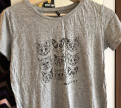 stradivarius macskás póló