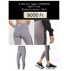 Nike szürke, fekete edzős nadrág Xs
