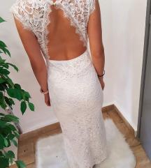 Árcsökkenés !!! Csipke menyasszonyi ruha