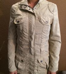Manguun őszi bézs drapp kabát dzseki 38 M
