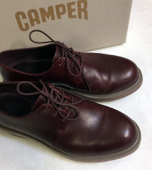 Camper Marta Oxford platform bőr cipő