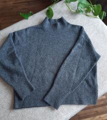 H&M szürke pulcsi