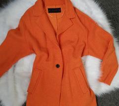 Zara oversize kabát 🍊