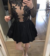 Lou fekete alkalmi ruha XS