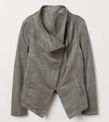 H&M szürke biker jacket