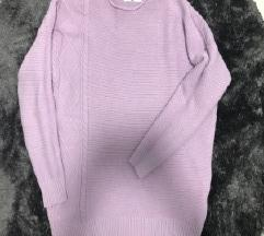 Lila pulóver
