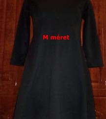 Új fekete lezser mini ruha