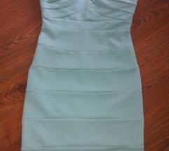 Menta színű ruha (csere is)