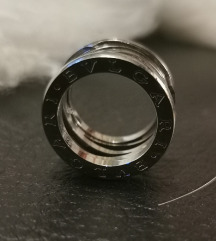 Ezüst bvulgari gyűrű