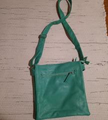 Menta színű műbőr táska