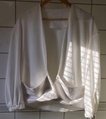 Nude by nubu designer fehér felső / xxs-s
