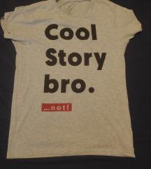 feliratos férfi póló