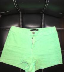 Neon zöld női farmer