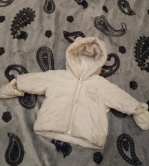 Újszülött baba kabát