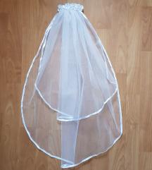 ÚJ, egyedi készítésű, 2 rétegű menyasszonyi fátyol