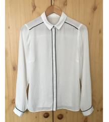 Fehér vékony áttetsző ing