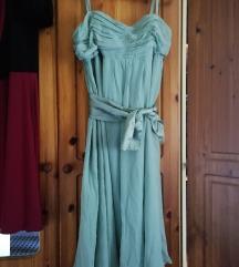 Mentazöld alkalmi/ koszorúslány ruha