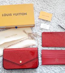 Louis Vuitton Félicie Vernis Monogram táska