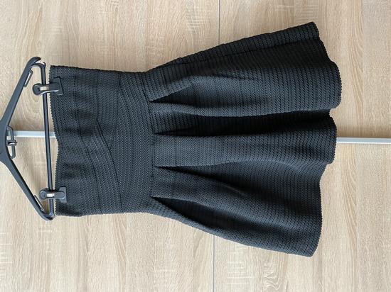 Fekete elegáns mini ruha