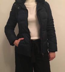 Zara navy blue toll kabát, dzseki