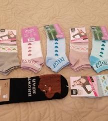 Új címkés pamut zoknik