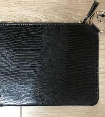 Mango fekete kézi táska / borítéktáska ÚJ