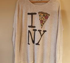Tallys pizzas vékony pulcsi