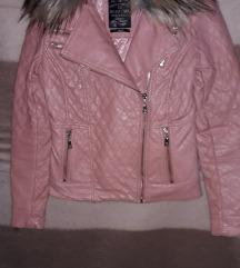 Mayo Chix rózsaszín  birdie bőrkabát