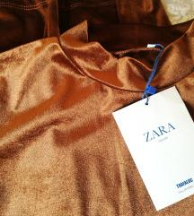 Új Zara bársony ruha