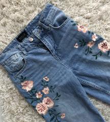 ÚJ! MOHITO virágos MOM jeans!