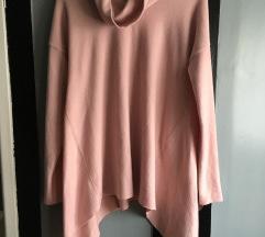 Halványrózsaszín pulóver