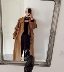 Vintage oversized maxi kabát M/L/XL 🥧