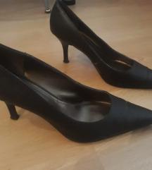 Őzbarna magassarkú cipő 38