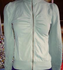 Almazöld pulóver