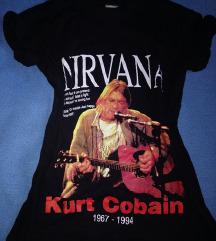 Nirvana két oldalon mintás póló 🎶