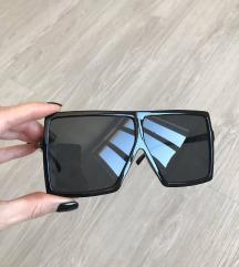 Y S L Betty oversize napszemüveg fényes fekete