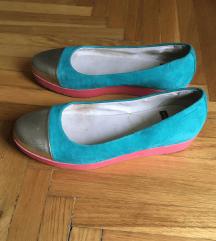 Vagabond Edie platform hasított bőr balerina cipő