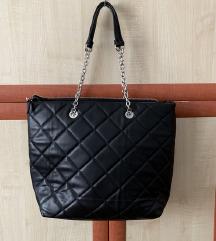 stradivarius fekete táska új