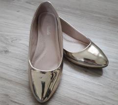 Arany balerona cipő 35ös