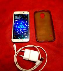 Samsung S5 feher mobil telefon