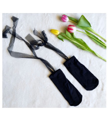 CALZEDONIA tüllös- kötős zokni (36-37)