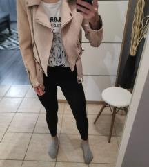 Zara rózsaszín dzseki  S
